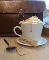 Boswells salted caramel latte