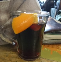 Sloe Gin Mulled Cidre